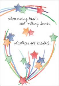 thank your volunteers for any occasion it takes two inc