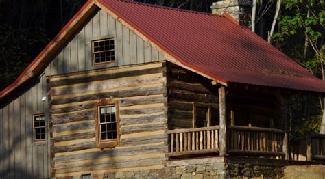 Fishing Log Cabins With Tubs by Springs Nc Honeymoon Log Cabin Rental With