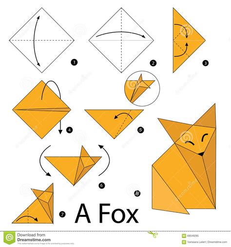 How To Make An Origami Tiger Step By Step - how to make an origami tiger step by step 28 images 25