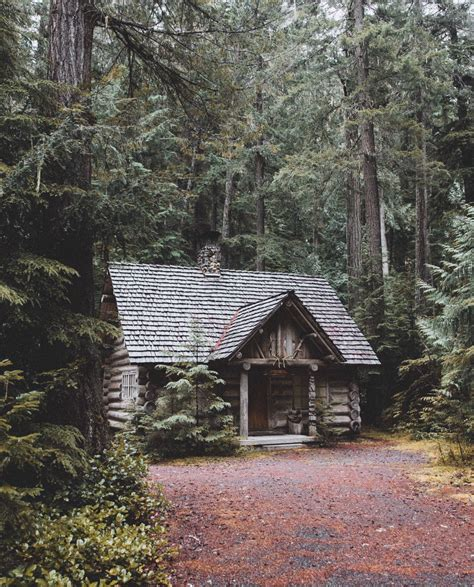 Cabin In The Woods by Andrewtkearns Cabin In The Woods House Of Dreams