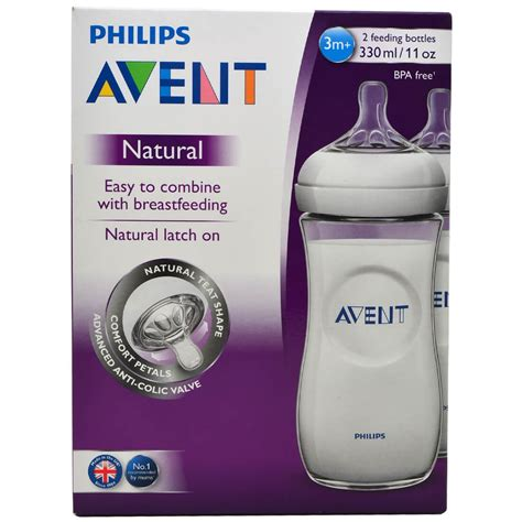 born free bottle assembly avent natural bottle 330ml twin pack 3m