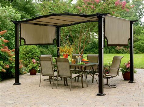 Garden Treasures Gazebo Canopy Replacement Covers Patio Gazebo Replacement Covers