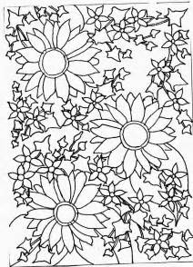 flower drawings in black and white many flowers