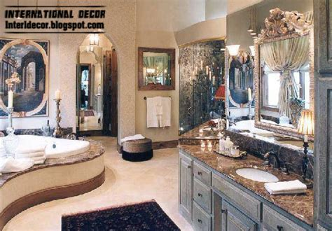 Top 10 royal bathroom designs with luxurious accessories and furniture international decoration