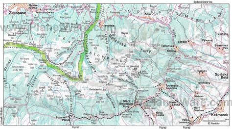 Printable Map Of Zakopane | 12 top rated tourist attractions in the czech republic