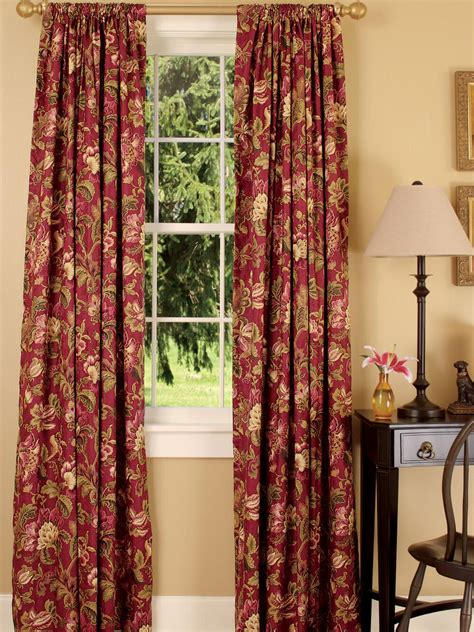 red toile drapes red toile curtains decorating ideas homesfeed