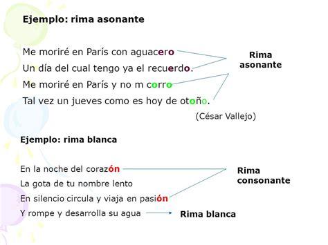 ejemplos de rimas alternas para qyinto de basica lengua y literatura marzo 2016