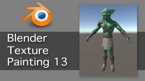 blender tutorial game character blender game character texture painting 13 of 13 blender
