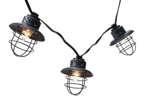 Smith And Hawken String Lights outdoor living space updates for summer