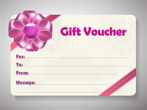 voucher card template gift voucher template