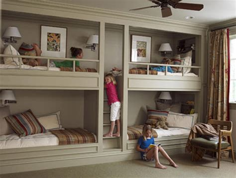 fabulous built in bunk beds for
