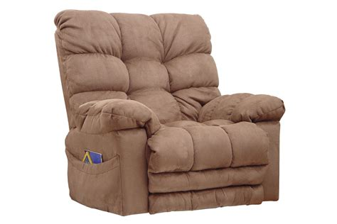 rocker recliner with massage and heat microfiber rocker recliner with heat massage at gardner