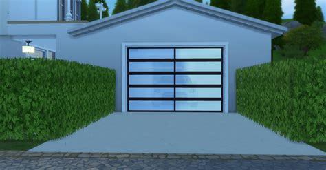 Mod The Sims Garages 4 Door Garage