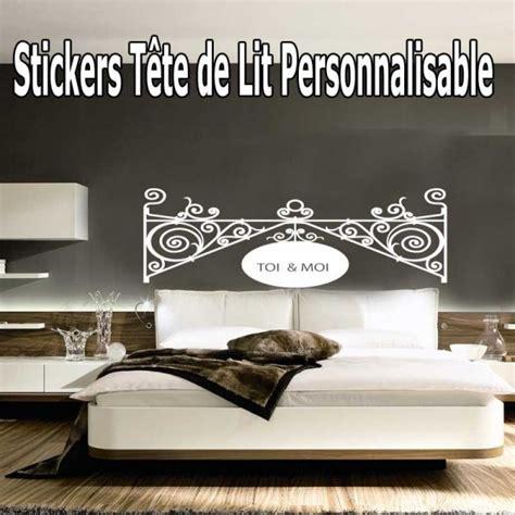Tete De Lit Baroque Pas Cher by Stickers T 234 Te De Lit Baroque Personnalis 233 183 184 184