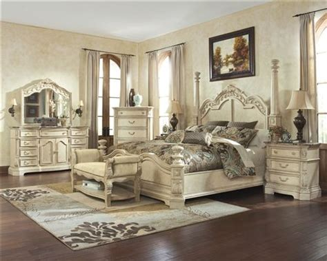 ortanique sleigh bedroom set ortanique light opulent sleigh bedroom set by signature