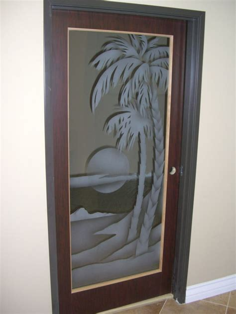 Etched Door Glass Glass Etching Sans Soucie Glass