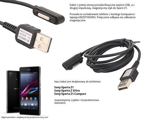 Kabel Usb Otg Sony Xperia magnetyczny kabel usb do telefonu sony xperia z1