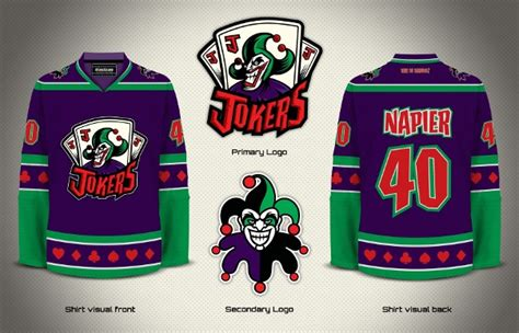 Kaos Batman Logo Classic the of hockey batman jerseys available at rinkgear