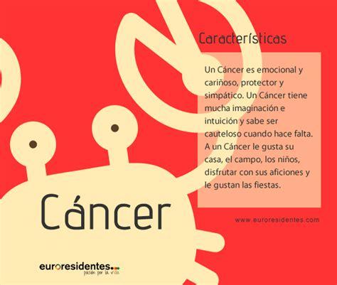el significado de los nacidos en cancer caracter 237 sticas de c 225 ncer