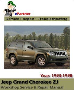 old car repair manuals 2011 jeep grand cherokee security system jeep grand cherokee zj service repair manual 1993 1998 automotive service repair manual
