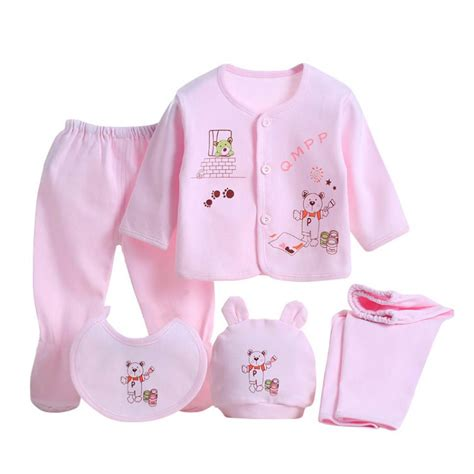 newborn clothing sets 5 pieces set newborn baby clothing set
