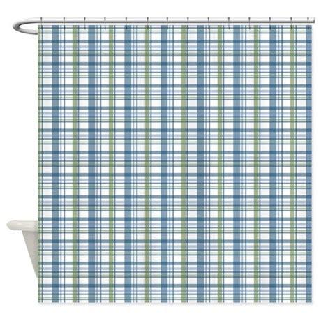 Blue Plaid Curtains Green And Blue Plaid Shower Curtain 187 Ideas Home Design