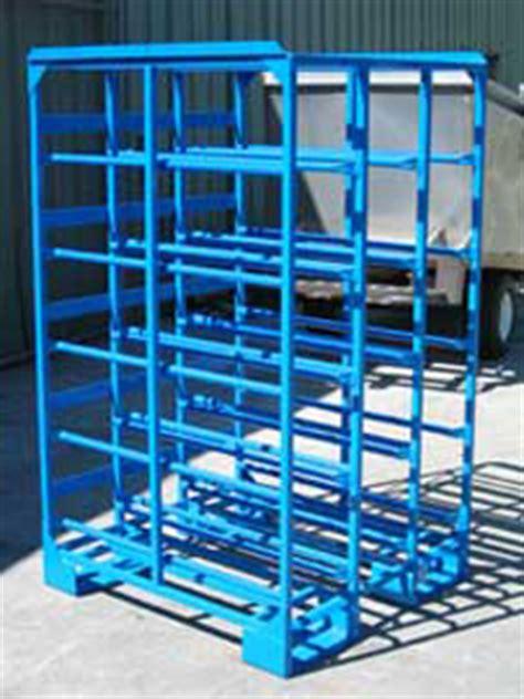 Western Square Barrel Racks by Water