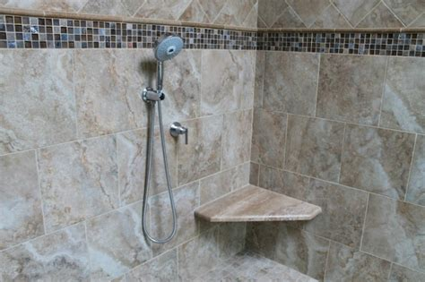 installing granite shower bench tile installation monk s home improvements