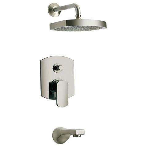 bathtub and shower faucet latoscana novello 1 handle 1 spray pressure balance tub