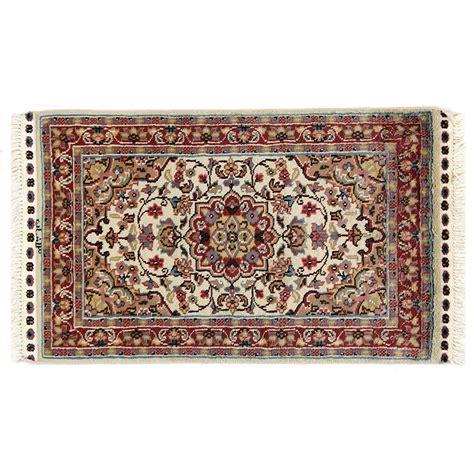 carpet tappeti tappeto kashmirian f seta annodato a mano 99x60