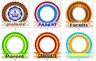 graduation ribbons amp new grad program template deped lp s