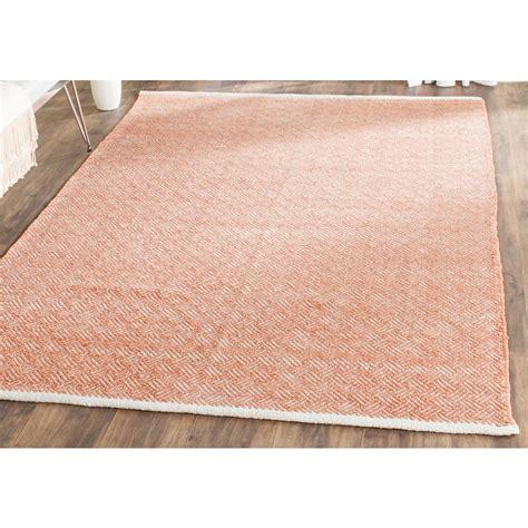 safavieh boston orange 5 ft x 8 ft area rug bos680c 5