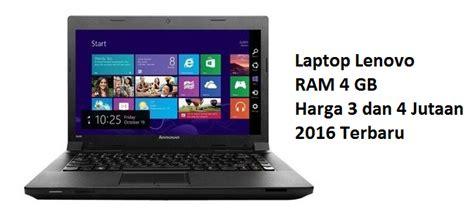 Ram Laptop Terbaru daftar laptop lenovo ram 4gb harga 3 dan 4 jutaan 2016