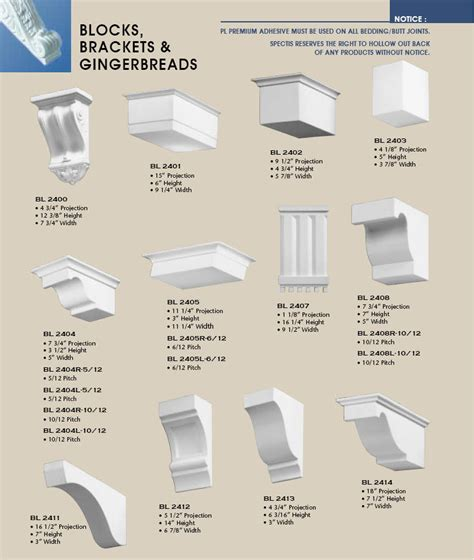 Architectural Brackets Decorative Bracket Corbels Class Building Products