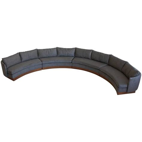 Semi Circle Sectional by Custom Semi Circular Sectional By Carson S Of