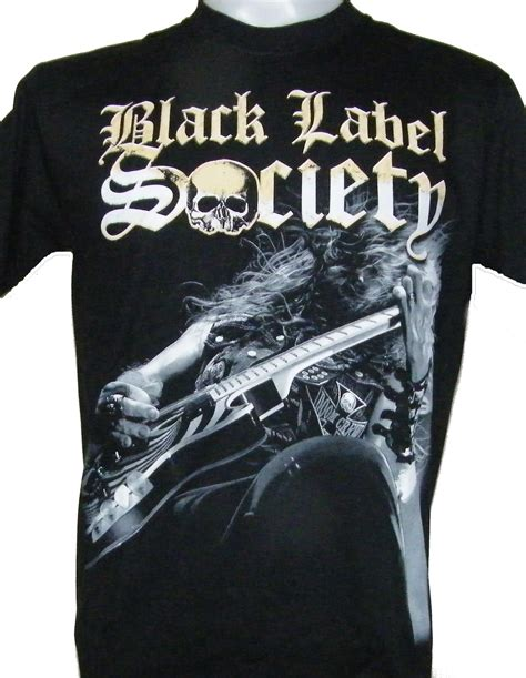 black label society t shirt size xl roxxbkk