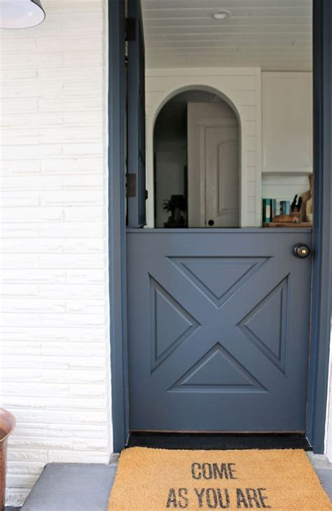 dutch door into kitchen in contrasting color and painted ceiling 300 best images about colors on pinterest master