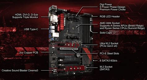 Asrock Ab350 Gaming K4 Ryzen Am4 asrock fatal1ty ab350 gaming k4 end 5 25 2017 11 00 pm