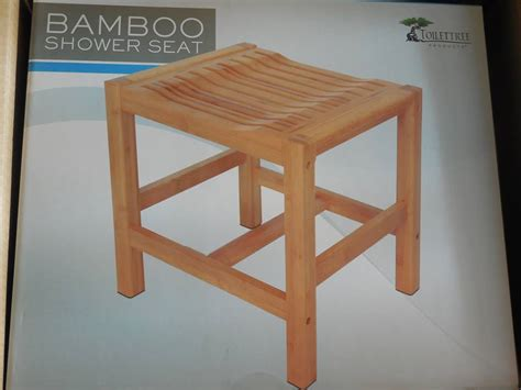 shower bench bamboo toilettree bamboo shower bench bb product reviews