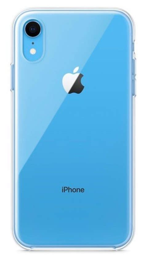 أول حافظة بتصميم شفاف من ابل لهاتف iphone xr التقنية بلا حدود