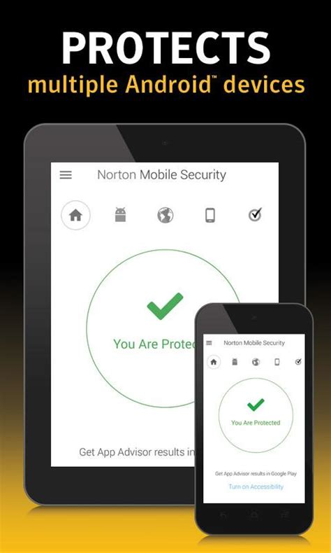 norton security and antivirus android apps on play