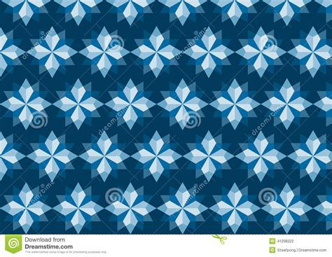 pattern in blue color abstract blue rhomboid pattern on dark blue background