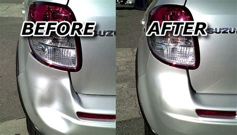 fix your car bumper dents with this simple diy hack at home
