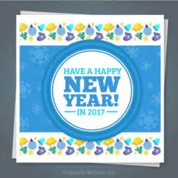 happy new year 2016 card vector free