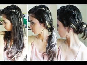 Really Easy Hairstyles For Medium Hair by 3 Easy Hairstyles For Long And Medium Hair Youtube