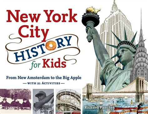 new york picture book new york city history for from new amsterdam to the
