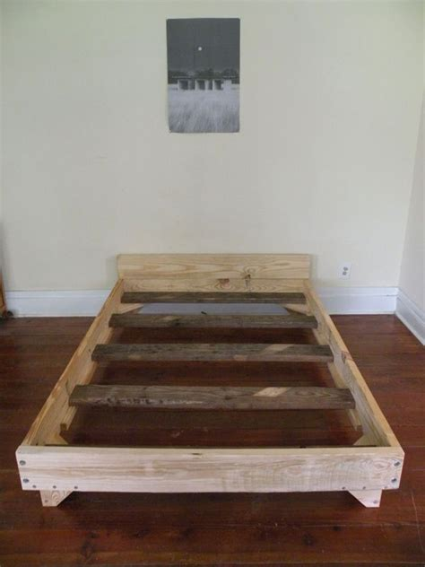 diy bed frame 1000 ideas about diy bed frame on pinterest diy bed