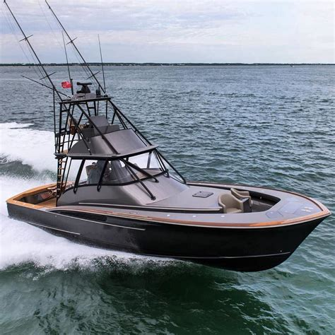 sport fishing boat brands introducing the brand new custom jarrett bay 46 grander