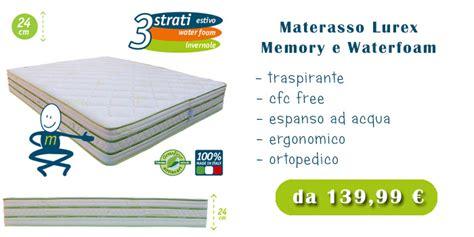 materasso waterlily opinioni materassi waterlily prezzi e offerte speciali