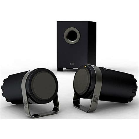 Speaker Laptop Altec Lansing altec lansing bxr1221 stereo computer speakers bxr1221 b h